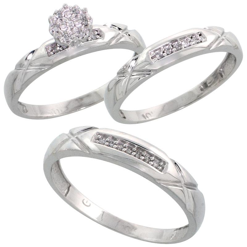 Trio Rings
