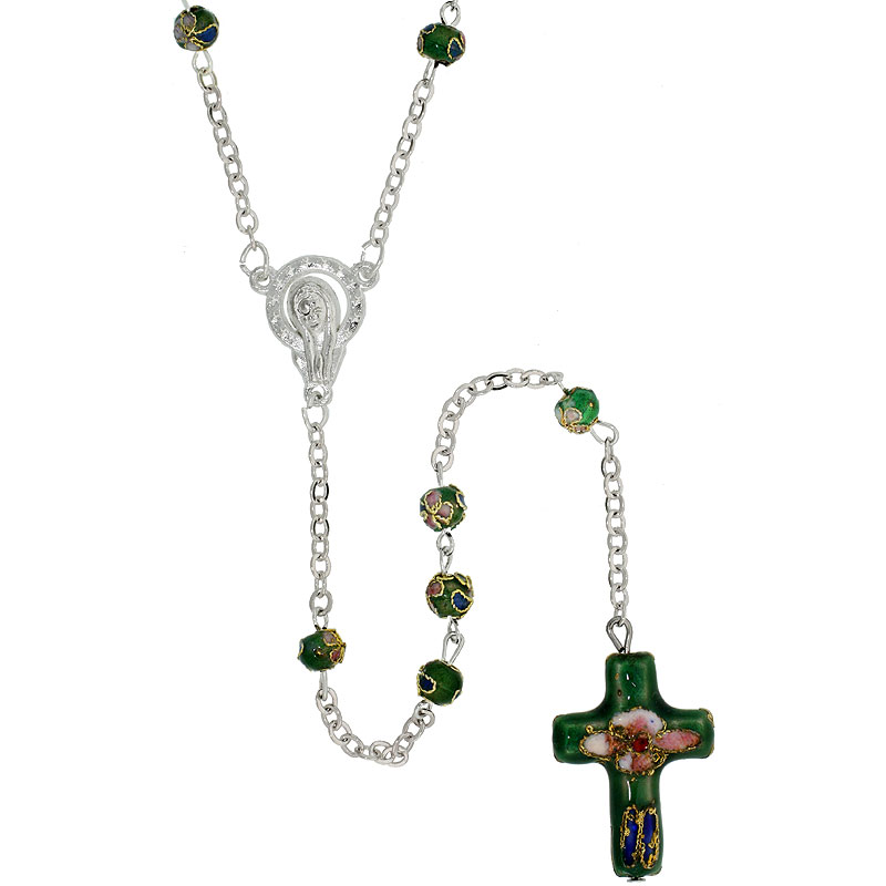 Rosaries$$$Sterling Silver Jewelry
