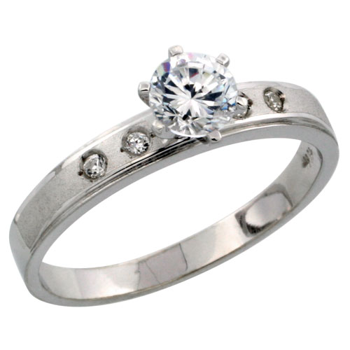 Wedding & Engagement Rings$$$Sterling Silver Jewelry