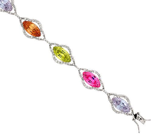 CZ Stone Bracelets