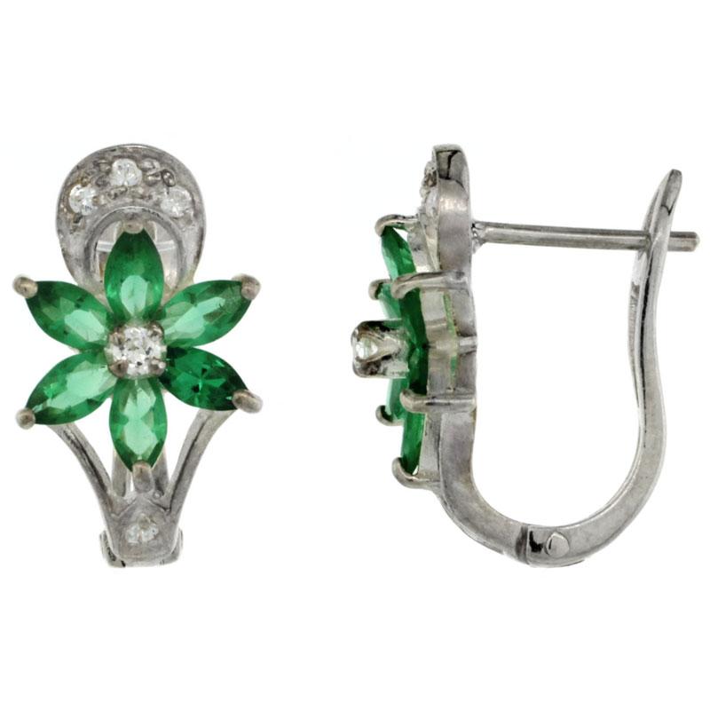 CZ Stone Earrings