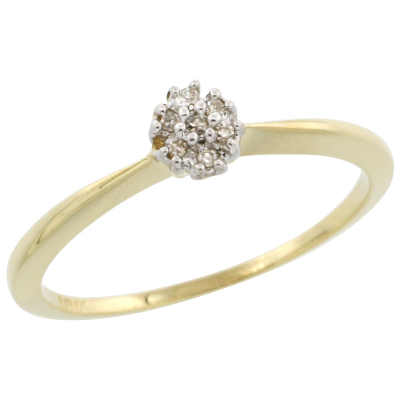Rings for Women$$$10k Yellow Gold Diamond Jewelry
