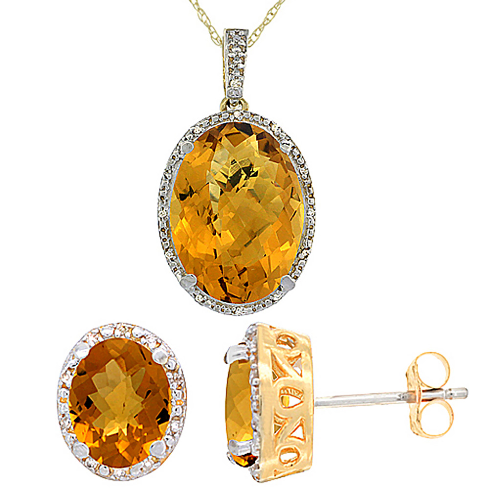 Jewelry Sets$$$10k Yellow Gold Diamond Jewelry