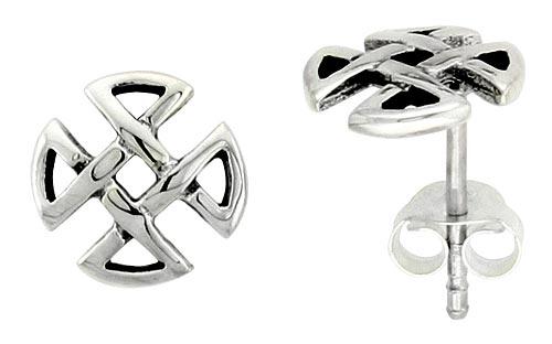 Stud Celtic Earrings