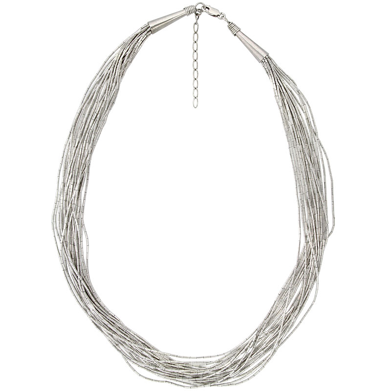 Liquid Silver Necklaces