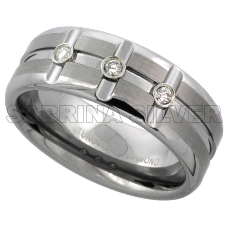Diamond Bands$$$Tungsten Jewelry