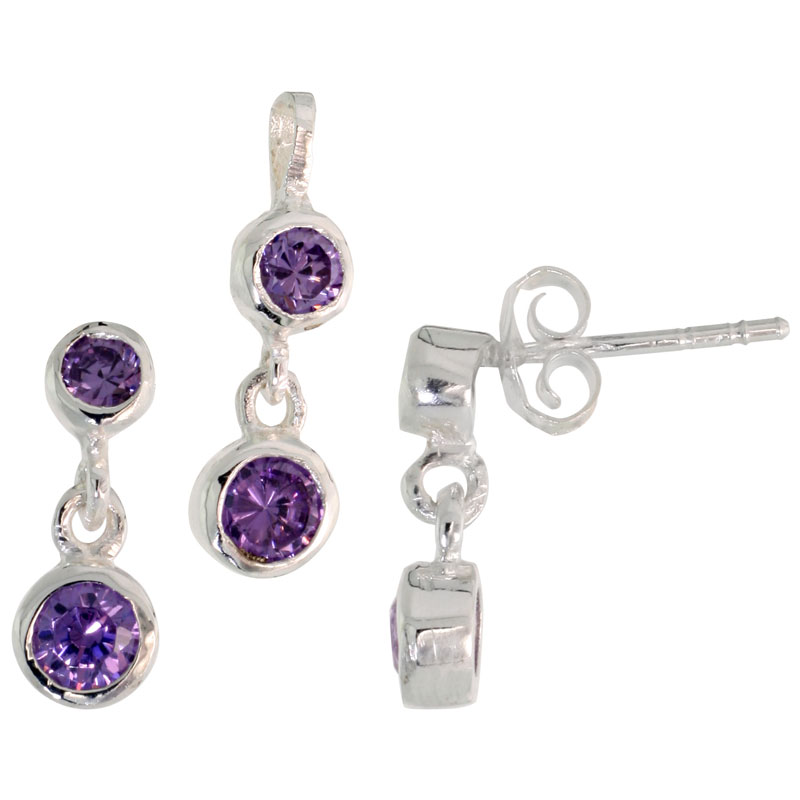 Earrings & Pendant Set
