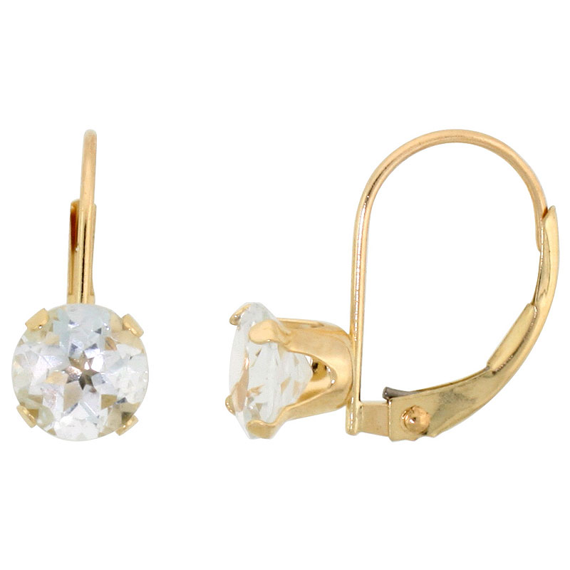 Earrings$$$10k Yellow Gold Diamond Jewelry