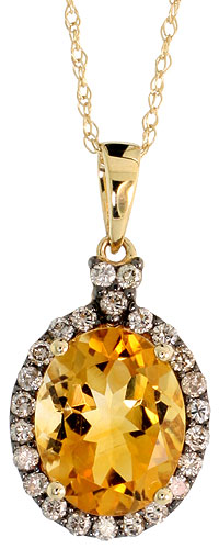 Pendants$$$14k Yellow Gold Diamond Jewelry