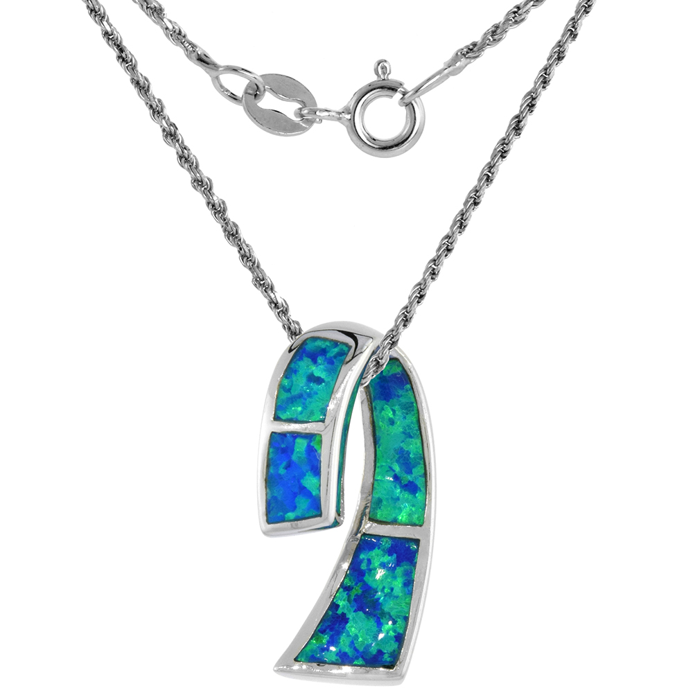 18-Inch Rhodium Plated Necklace with 4mm Zircon Birthstone Beads and Sterling Silver Saint Lidwina of Schiedam Charm.