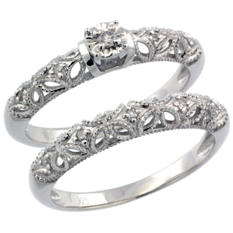 style vintage products diamond roberta bands rings wedding moissanite band