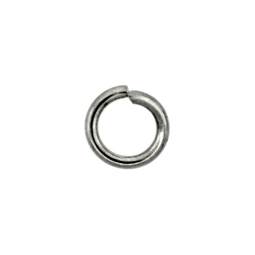 Stainless Steel Jump Ring 6mm, 12 pieces