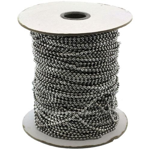 Surgical Steel Bead Ball Chain 2.5 mm 100 Yard Spool