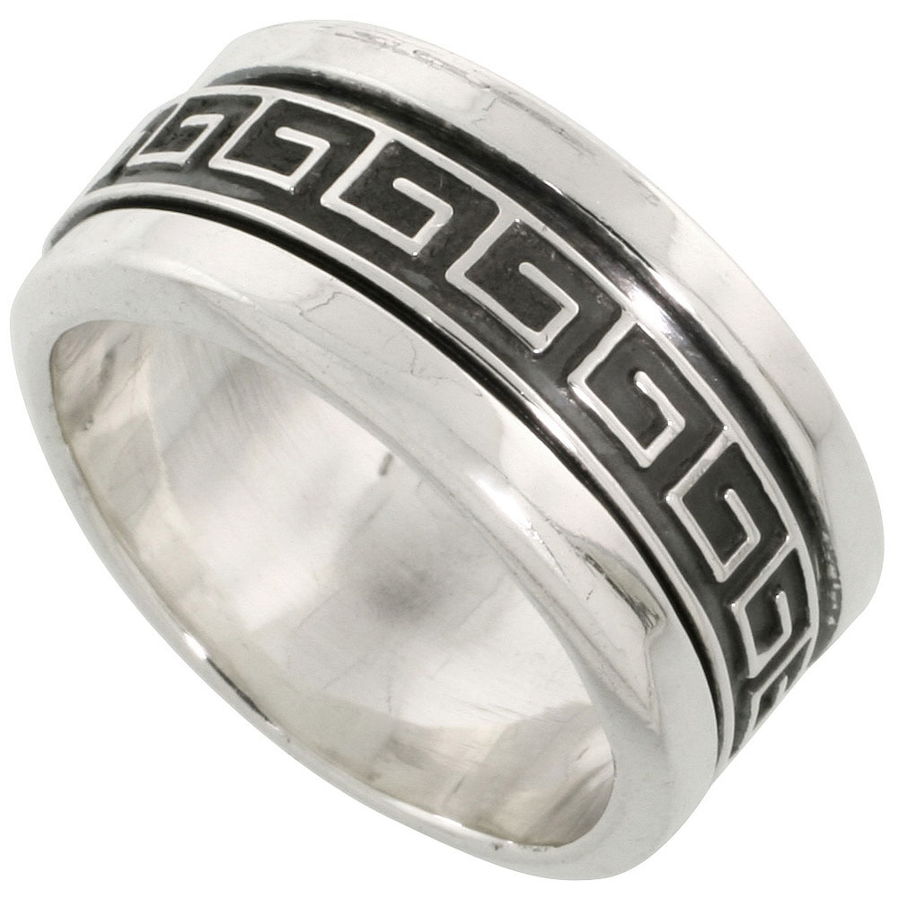 greek silver jewelry bronze rings hammered slide love from with handmade greece art ceramics