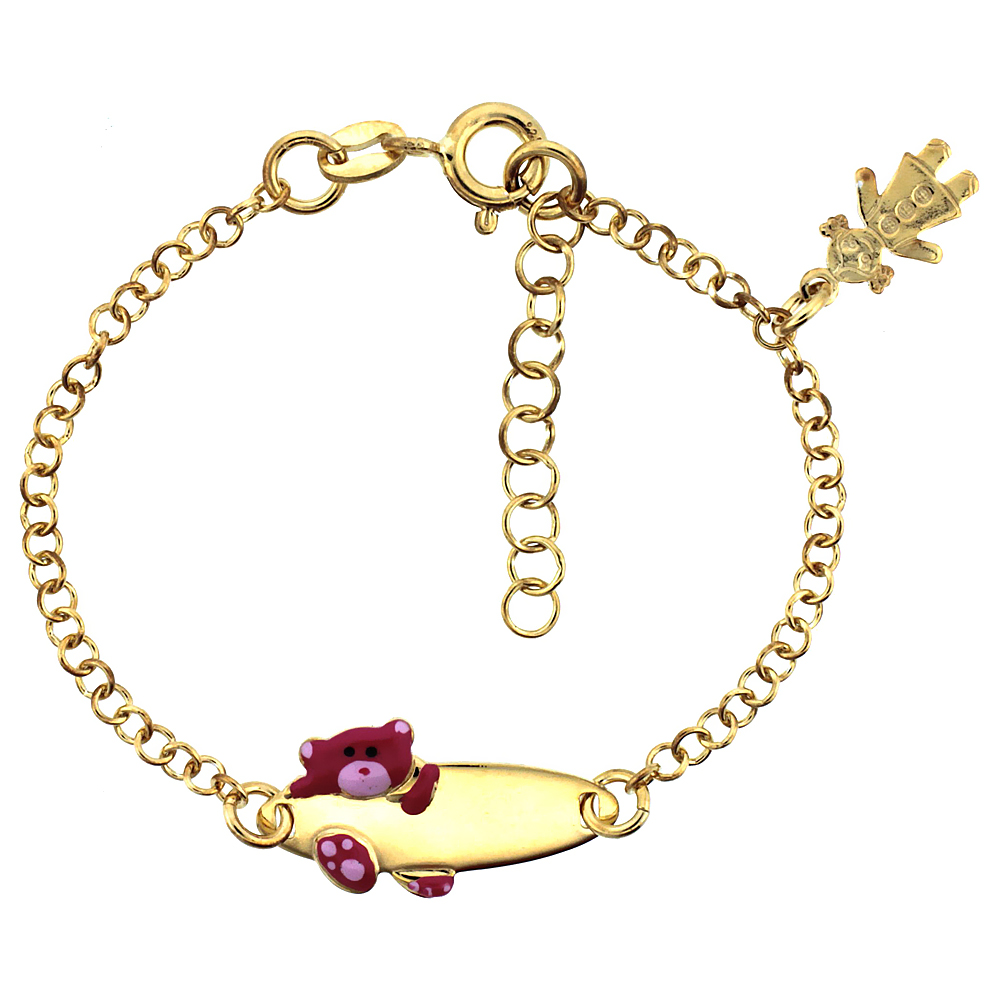 ring kid bracelet size com girls heart dp jewelry amethyst amazon gold genuine